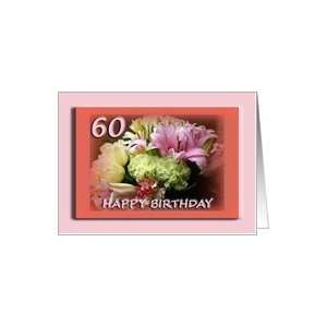 Happy 60th Birthday Greeting Card Card: Toys & Games