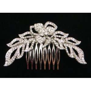 Crystal Hair Comb for Weddings, Proms, Quinceanera or