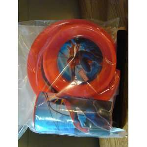 SPIDER MAN DINNER PLATE, BOWL & CUP