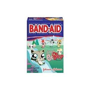 Band Aid Kids Bandages Littlest Pet Shop Assorted Sizes 20
