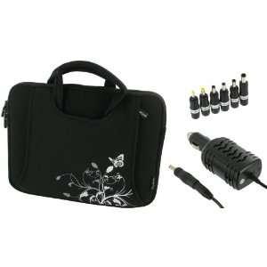 rooCASE 2n1 HP Mini 110 1030NR 10.1 Inch Netbook Neoprene Sleeve Case