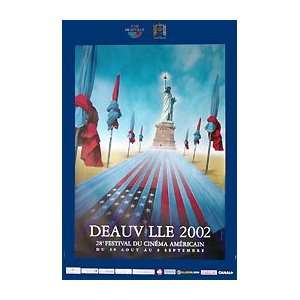 DEAUVILLE FILM FESTIVAL 2002 (FRENCH ROLLED) Movie Poster