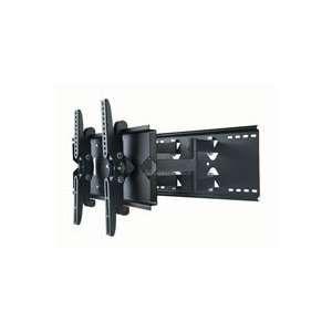 Wall Mount Bracket for LCD Plasma (Max 130Lbs, 2 Electronics