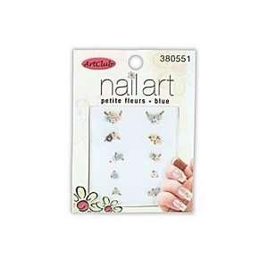 Nail Art Petite Fleurs  Blue #380551 Beauty