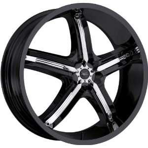 Milanni Belair 5 5x115 +18mm Black Wheels Rims Inch 17 Automotive