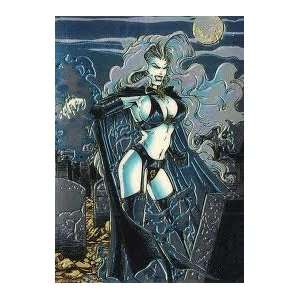 Lady Death All Chromium Pin Up A Tale of Death #10 Single Trading Card