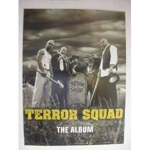 Terror Squad Poster Armageddon & Fat Joe Band Shot