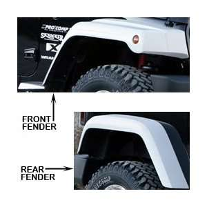 Fender Flare Kit, Step Down Design 1.6 Wider w/ Ext Xenon