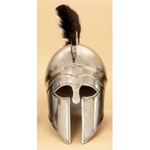Medieval Helmet THE GREEK CORINTHIAN with BLACK PLUME Knight Armor