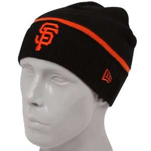 Era San Francisco Giants Black Ice Rink Knit Beanie