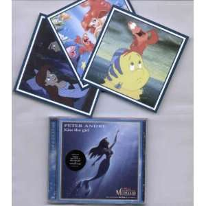 / KISS THE GIRL   CD (not vinyl) WALT DISNEY LITTLE MERMAID Music