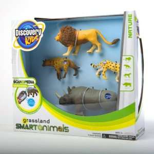 Discovery Kids   3 Smart Animals 4 Pack   Grassland