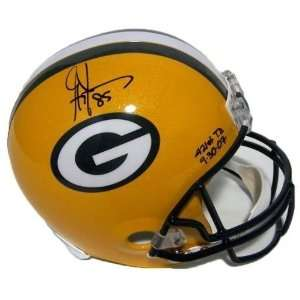 Jennings Autographed FS Replica Helmet with 421st TD 9 30 07 Insc