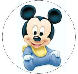 BABY MICKEY MOUSE~ 1 Sticker / Seal Labels