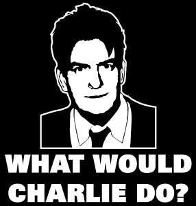 Winning T Shirt Charlie Sheen Funny Two Half Men 007J