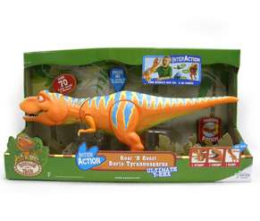 Dinosaur Train InterAction 6 Figures   Boris, Buddy, Tiny, Mr