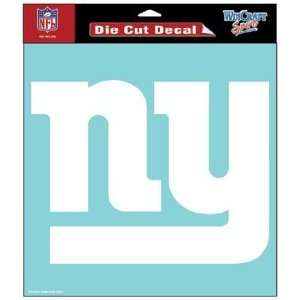 NFL New York Giants 8 X 8 Die Cut Decal