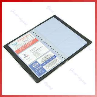 Business Credit ID 60 Card Holder Organizer Book Wallet
