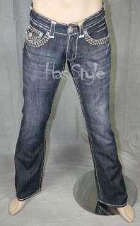 Laguna Beach Jeans Mens LAGUNA Studded 34 NWT