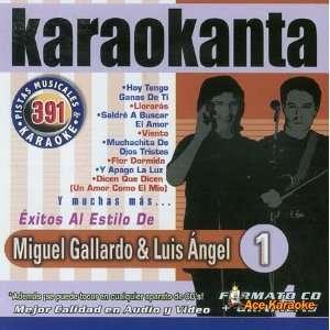 Karaokanta KAR 4391   Al Estilo De Miguel Gallardo & Luis