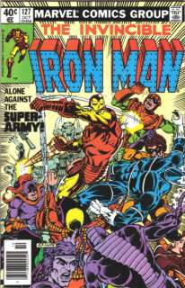 Iron Man Comic Book #127, Marvel Comics 1979 VERY FINE