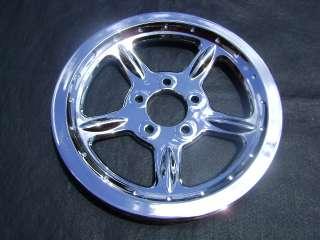 HARLEY CHROME BELT PULLEY SPROCKET SPORTSTER XL wheel
