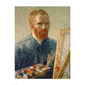 Self Portrait as an Artist, 1888 Finest LAMINATED Print