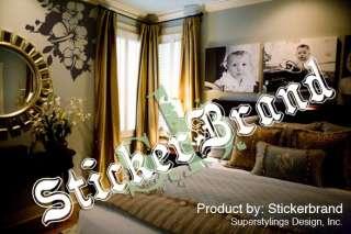 Vinyl Wall Decal Sticker Flower Splat Art 60x58 LARGE