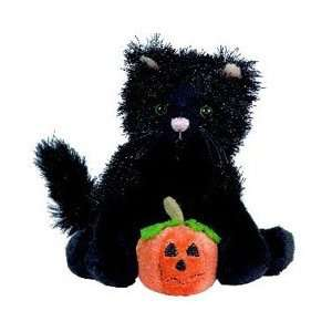Black Cat Halloween Soft Spot Ganz Plush Toys & Games