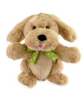 Cute Puppy Dog Singing moving Stuffed Plush Animal toy