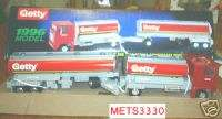 1996 GETTY TANDOM TANKER TRUCK DIECAST 3 YEAR SPECIAL