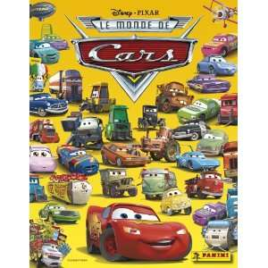 Disney Pixar THE WORLD OF CARS Sticker Book with wall
