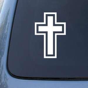 CROSS CHRITIAN JESUS GOD   Car, Truck, Notebook, Vinyl Decal Sticker