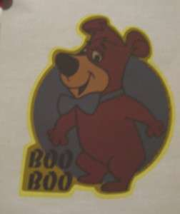 Vintage 70s Iron On Transfer BOO BOO From Yogi Bear