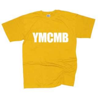 YMCMB T SHIRT YOUNG MONEY LIL WEEZY WAYNE RAP T SHIRT HOP HIP MULTI