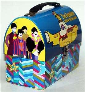 BEATLES Yellow Submarine TIN Dome LUNCHBOX WORKBOX New