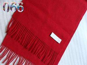 vogue chic womens 2ply king soft Cashmere wool Scarf Shawl solid red