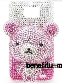 Samsung Galaxy S II 3D Teddy Bear/Stitch/Hello Kitty etc. bling