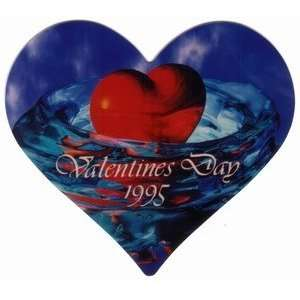 Collectible Phone Card 20u Valentines Day 1995 (Heart Shaped Card