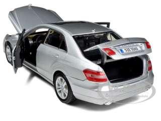 2009 2010 MERCEDES E CLASS E350 E 350 SILVER 1/18 DIECAST MODEL BY