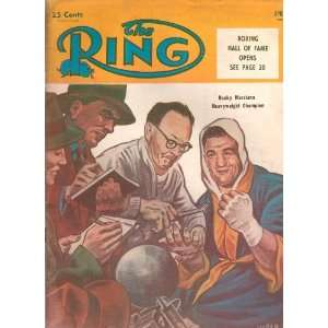 The Ring April, 1955 Worlds Official Boxing Magazine