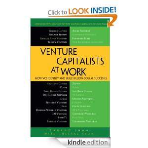 Venture Capitalists at Work: How VCs Identify and Build Billion Dollar