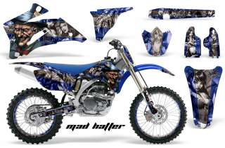 STICKER DECAL GRAPHIC BACKGROUND KIT YAMAHA YZ450 YZ YZ250 06 09 MHUSS