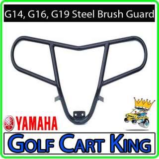 Yamaha G14, G16, G19 Golf Cart Black Steel Brush Guard