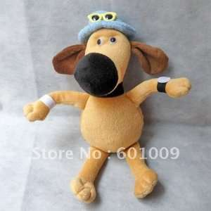 ems high quality soft plush shaun the sheep bitzer dog