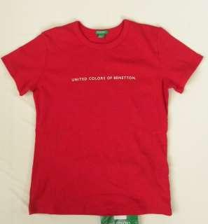 UNITED COLORS OF BENETTON INFANTS TODDLER GIRLS T SHIRT