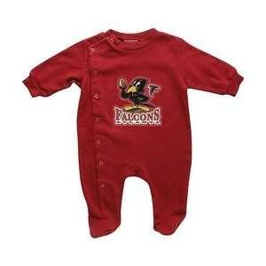 NFL Buddies Atlanta Falcons Newborn Sleeper   Atlanta Falcons 3 6