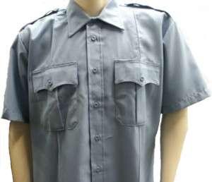 Elbeco Duty Plus SS Light Blue Uniform Shirt 2213