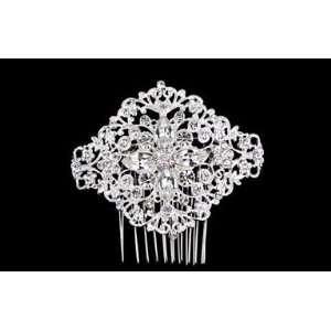 Intricate Rhinestone Bridal Side Comb TRS2278 Beauty