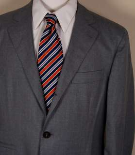 BRUNELLO CUCINELLI COAT $2475 GRAY WOOL/SILK 3 BTN LIGHT SPORT JACKET